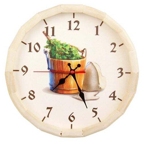 Добропаровъ Часы-бочонок Банные штучки бежевый