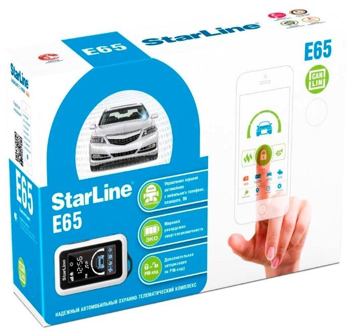 Автосигнализация StarLine E65 CAN-LIN