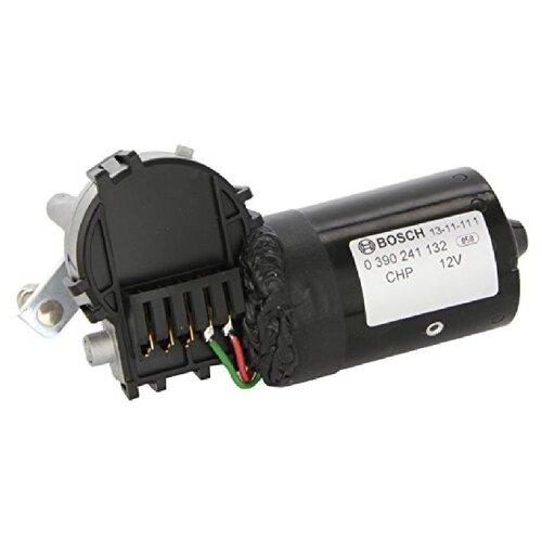 Мотор омывателя Bosch 0390241132 черный 1 шт.