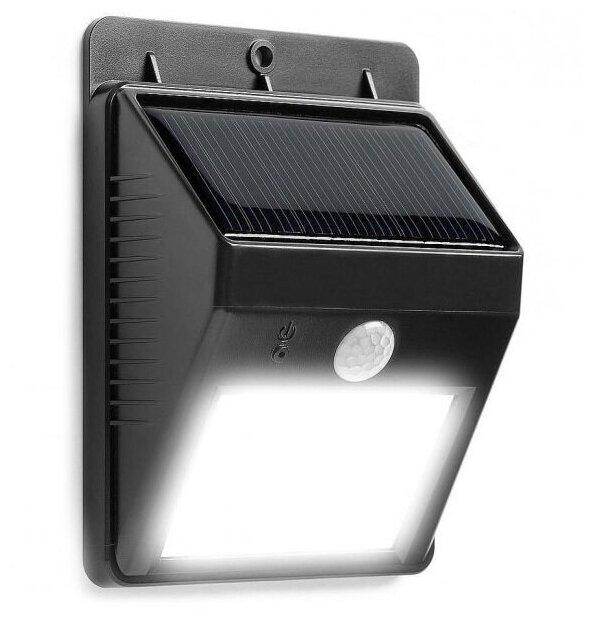 Купить Светильник наружний на солнечной батарее с датчиком освещения LED Ever brite 40 светодиодов (Черный) по низкой цене с доставкой из Яндекс.Маркета (бывший Беру)