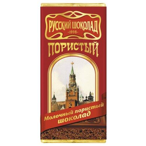 шоколад молочный аленка пористый 95 г Шоколад Русский шоколад молочный пористый, 31% какао, 90 г