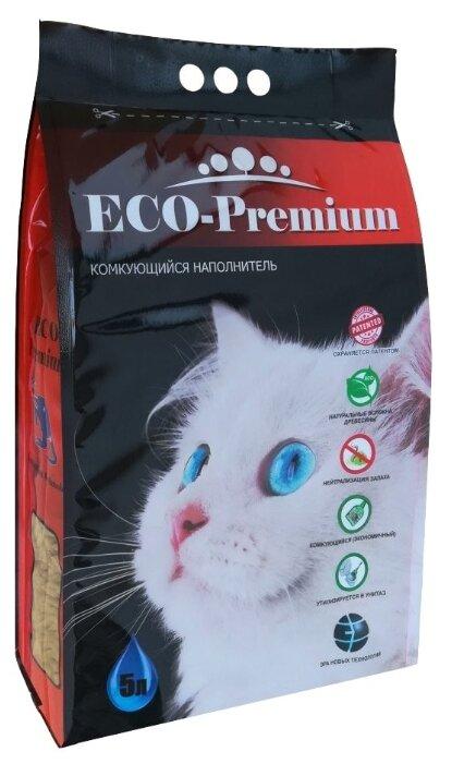Наполнитель комкующийся ECO-Premium 1.9