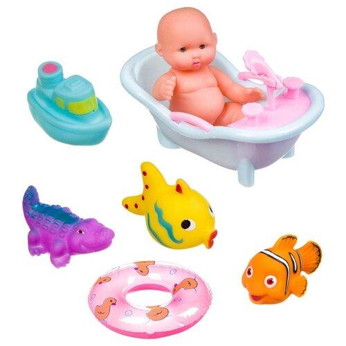 Купить Набор для ванной BONDIBON Baby you ВВ3366 разноцветный, Игрушки для ванной