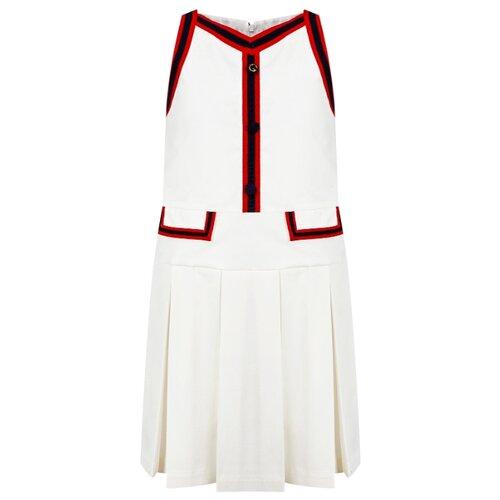 gucci однотонное платье Платье GUCCI размер 152, кремовый