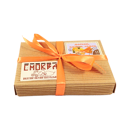 цена Смоква Экомар Морковь, Имбирь, Лимон 160 г онлайн в 2017 году