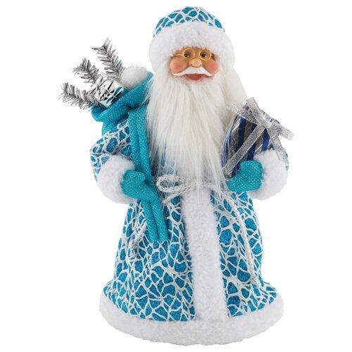 Фигурка Волшебная страна Дед Мороз 28 см белый/голубой волшебная страна световое панно дед мороз на упряжке 20 ламп 44 5х24 см волшебная страна