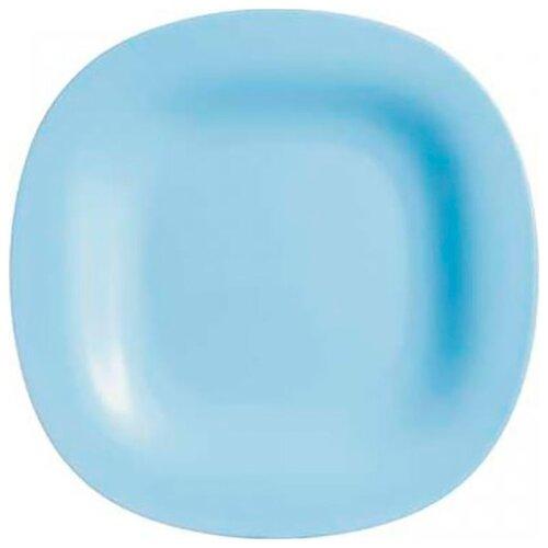 Luminarc Тарелка обеденная Carine 27х27 см light blue