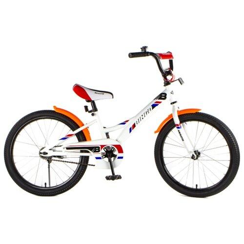 Детский велосипед Navigator Bingo (ВН20187/ВН20188) белый (требует финальной сборки)
