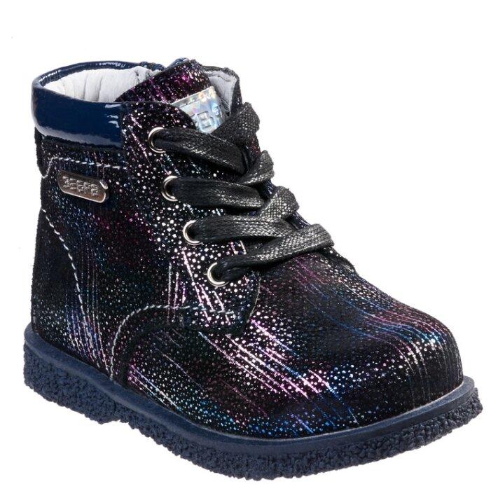 Ботинки Зебра размер 26, синий