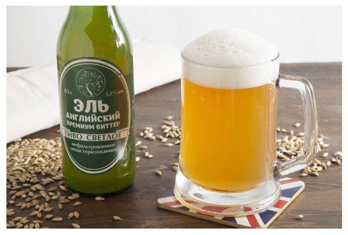 Пиво светлое ВкусВилл Английский Эль Биттер 0.5 л