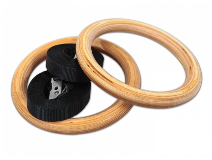 Гимнастические кольца Proxima PGR-2403WD деревянные