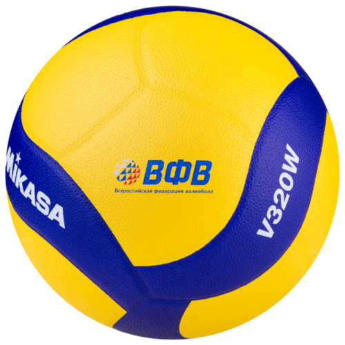 Волейбольный мяч Mikasa V320W желто-синий