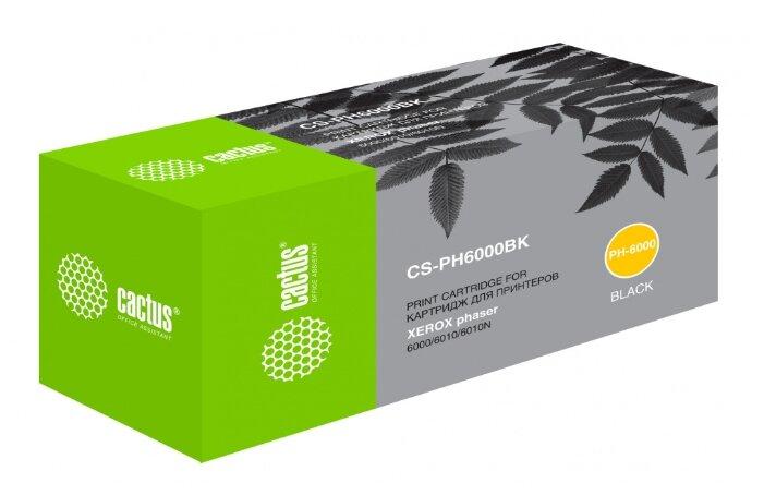 Картридж cactus CS-PH6000BK, совместимый — купить по выгодной цене на Яндекс.Маркете