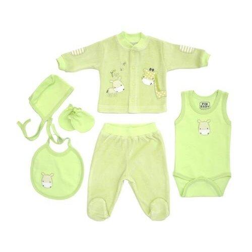 Купить Комплект одежды fim baby размер 62, зеленый, Комплекты