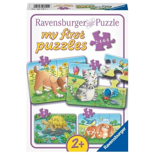 Купить Набор пазлов Ravensburger Милые животные (06951), Пазлы