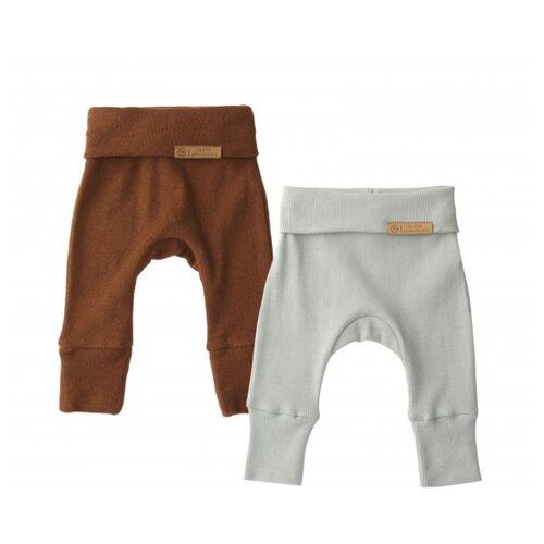 Ползунки Happy Baby размер 56, зеленый/коричневый брюки happy baby baby crawlers set 90034 размер 56 зеленый белый