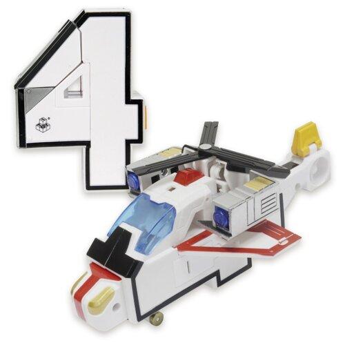 Купить Трансформер 1 TOY Трансботы XL Боевой расчет - 4 - Квадрон белый, Роботы и трансформеры