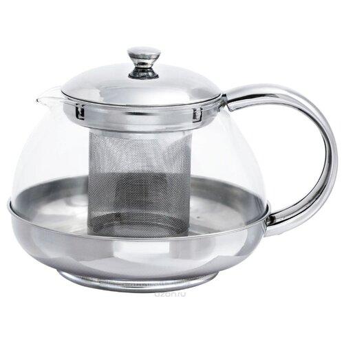 Bohmann Заварочный чайник BH-9635 600 мл, серебристый ситечко для заварки bohmann bh 7937 серебристый