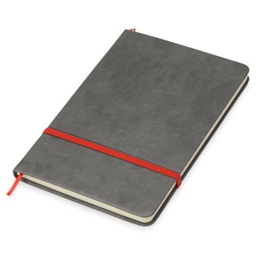Купить Блокнот Oasis Color серый/красный, A5, 80 листов, Блокноты