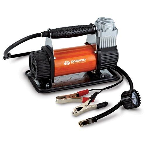 Автомобильный компрессор Daewoo Power Products DW90 черный/оранжевый