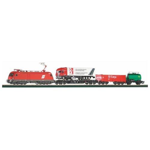 Купить PIKO Стартовый набор Грузовой поезд Taurus , серия Hobby, 57177, H0 (1:87), Наборы, локомотивы, вагоны