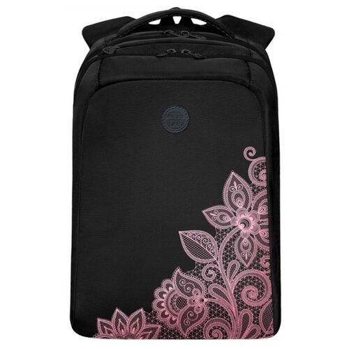 Рюкзак Grizzly RD-044-4/1 12 (черный/розовый) сумка женская grizzly цвет черный розовый 9 5 л md 621 2 1