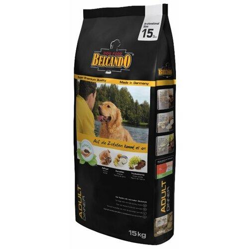 Корм для собак Belcando (15 кг) Adult Dinner для собак средних и крупных пород с нормальным уровнем активности