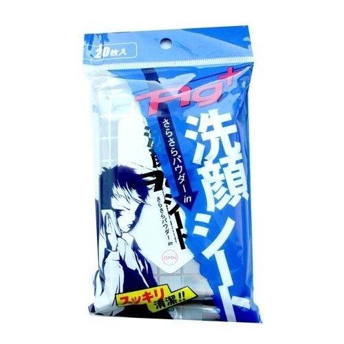 Влажные салфетки Showa Siko ионы серебра с ароматом ментола, 20 шт.