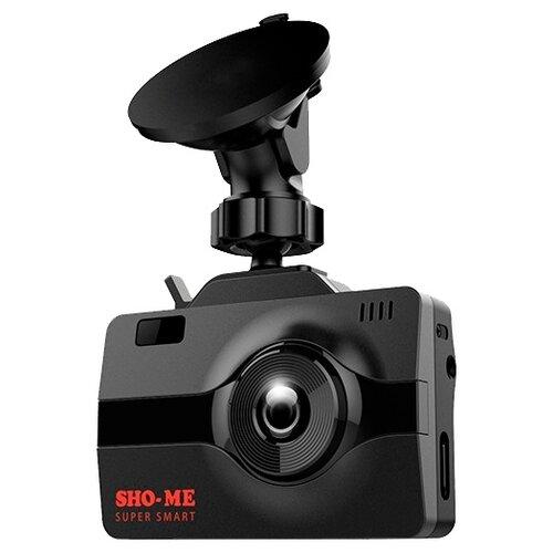 Видеорегистратор с радар-детектором SHO-ME COMBO Super Smart, GPS, ГЛОНАСС черный