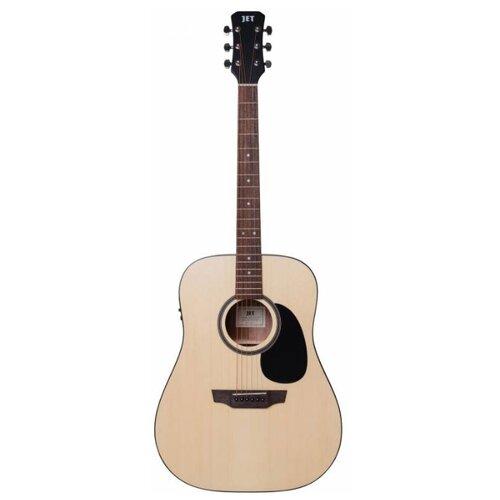 цена на Электроакустическая гитара JET JDE-255 OP