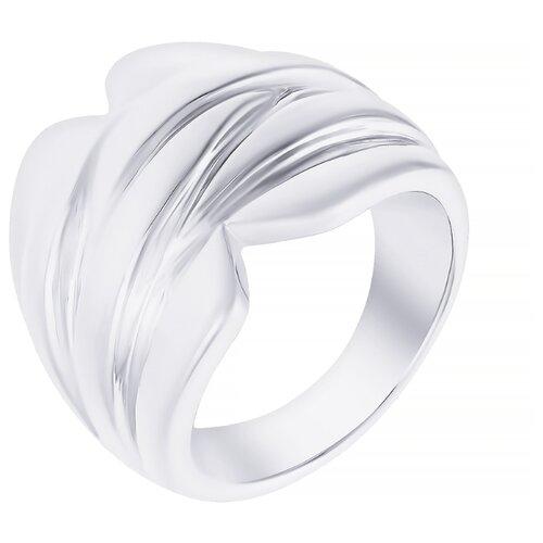 ELEMENT47 Широкое ювелирное кольцо из серебра 925 пробы RNF1244SSRP_KO_WG, размер 18