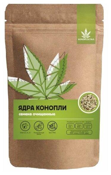 Купить Ядра семян конопли KONOPLEKTIKA, 250 г. по низкой цене с доставкой из Яндекс.Маркета