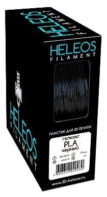 PLA пруток Heleos 1,75 мм черный