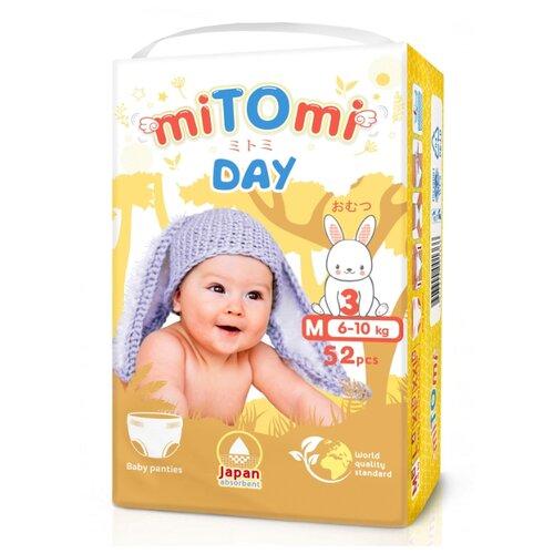 MiTOmi трусики Day M (6-10 кг) 52 шт.