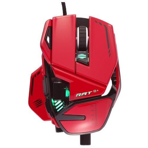 Мышь Mad Catz R.A.T. 8+, красный