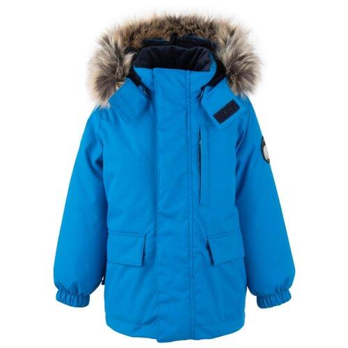 Купить Парка KERRY Snow K20441 размер 134, 658 голубой, Куртки и пуховики