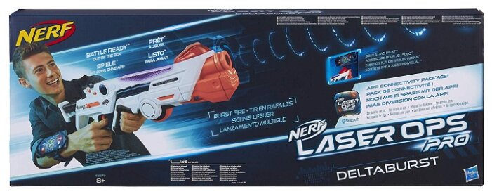 Бластер Nerf Лазер Опс Дельтабурст (E2279)