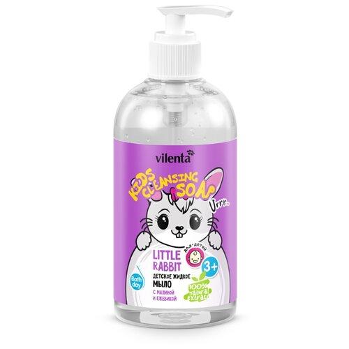 Купить Vilenta Детское жидкое мыло Little Rabbit с малиной и ежевикой 300 мл, Средства для купания