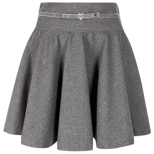 Юбка Aletta размер 146, серый юбка leticia milano серый 44 46 размер