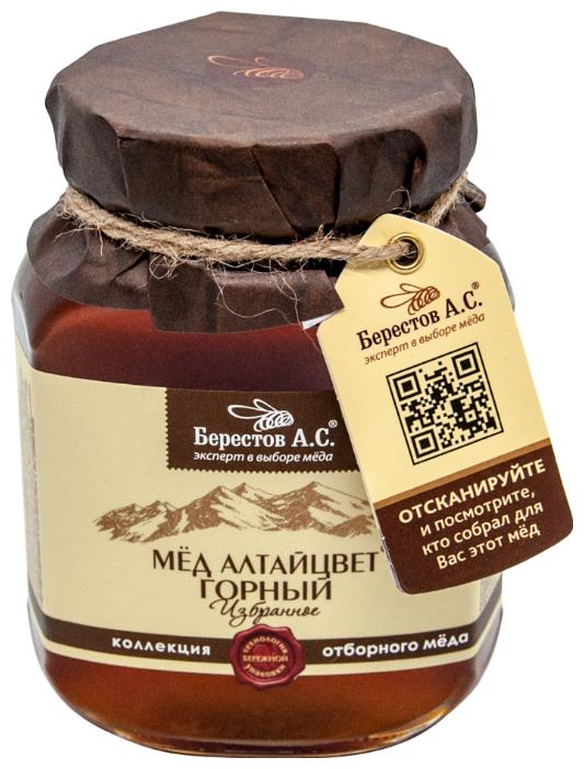 Мед Берестов А.С. натуральный горный 500 г