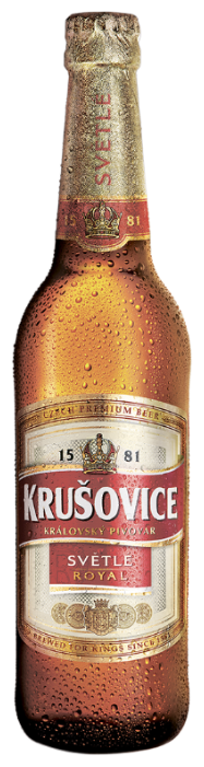 Пиво светлое Krusovice Svetle Royal 0,5 л