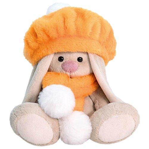 Мягкая игрушка Зайка Ми в оранжевом берете 15 см фото