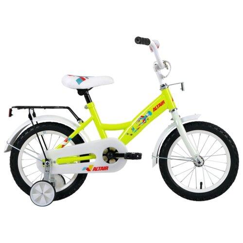 Детский велосипед ALTAIR Kids 14 (2019) зеленый (требует финальной сборки)