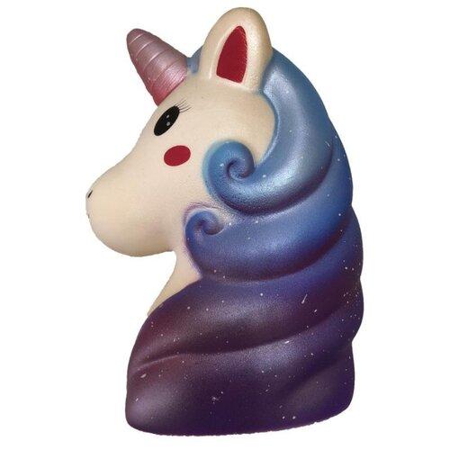 Игрушка-мялка 1 TOY Мммняшка Squishy Единорог Т15864 фиолетовый/белый