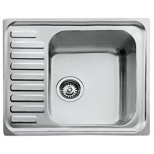 Врезная кухонная мойка 65 см TEKA Classic 1B 1/2D нержавеющая сталь/микротекстура кухонная мойка teka classic 1b mctxt