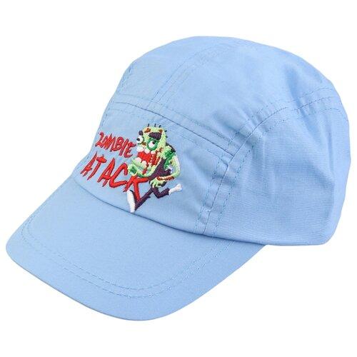 Купить Бейсболка Be Snazzy размер 50, голубой, Головные уборы