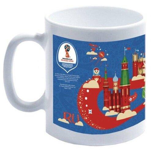 ОСЗ Кружка FIFA World Cup Russia, 320 мл синий/белый fifa world cup russia 2018 пазл города москва 03795