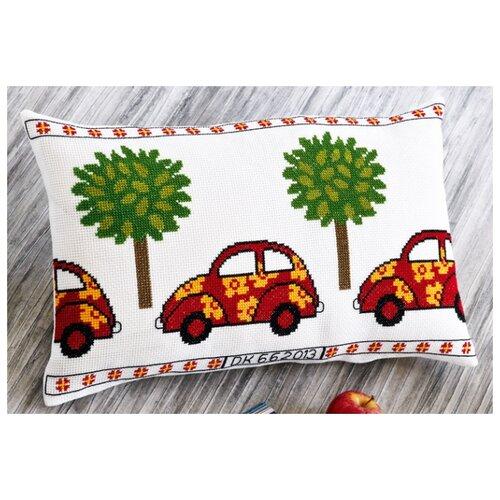 Подушка Красный фольксваген набор для вышивания