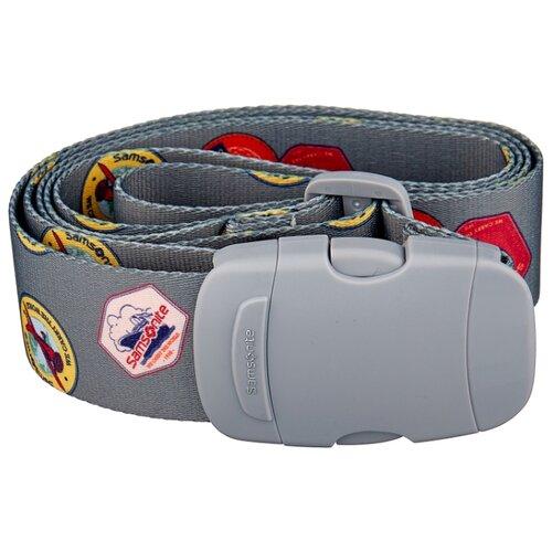 Ремень для багажа Samsonite CO1-28056, серый ремень для багажа samsonite co1 11056 96056 09056 синий