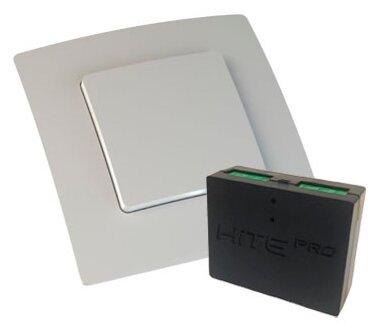 Выключатель HiTE PRO Комплект (радиовыключатель + реле + рамка) KIT-1, белый фото 1